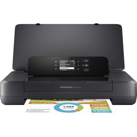 HP Officejet 200 Mobile Couleur 4800 x 1200DPI A4 Wifi Noir - 1