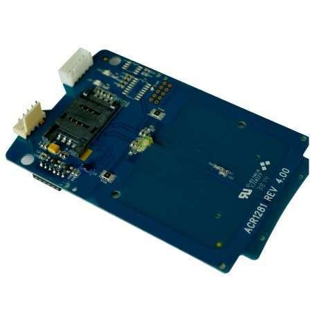 ACS ACM1281U-C7 lecteur de cartes à puce Intérieure Bleu USB 2.0 - 1