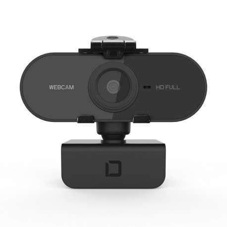 Dicota D31841 webcam 1920 x 1080 pixels USB 2.0 Noir - 1