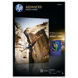 HP Papier photo brillant Advanced - 20 feuilles/A3/297 x 420 mm - 1