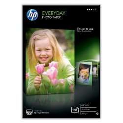 HP Papier photo brillant Everyday - 100 feuilles, 10 x 15 mm - 1
