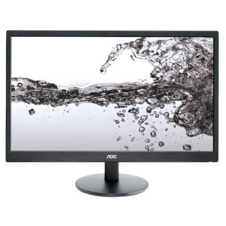 "AOC e2270Swn 21.5"" Full HD Noir écran plat de PC - 1"