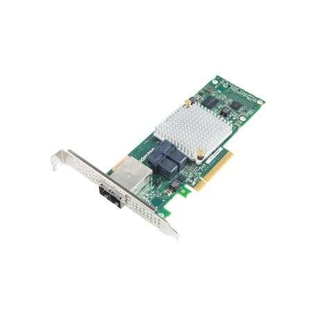 Adaptec 1000-8i8e Interne mini SAS carte et adaptateur d'interfaces - 1