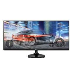 "LG 25UM58 25"" Full HD IPS Noir écran plat de PC - 1"