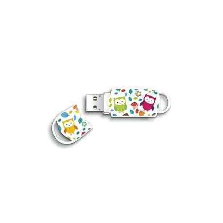 Integral 16GB Owls 16Go USB 2.0 Capacity Multicolore lecteur USB flash - 1