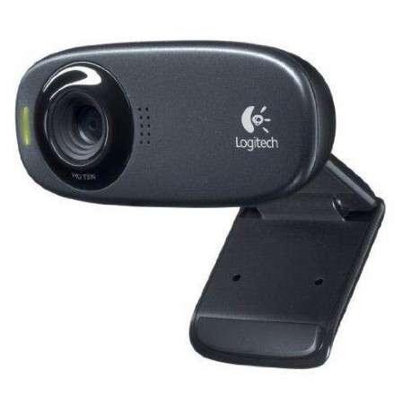Logitech C310 5MP 1280 x 720pixels USB Noir webcam - 1