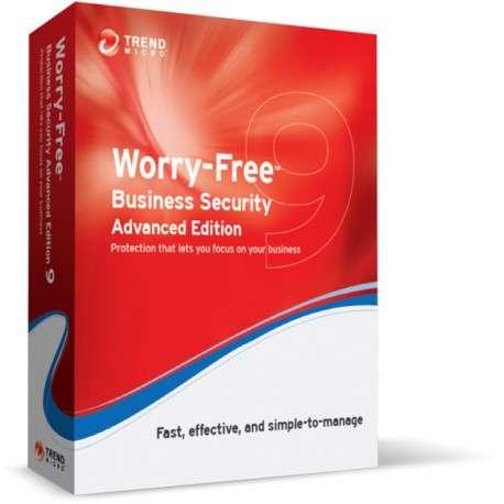 Trend Micro Worry-Free Business Security 9 Advanced, RNW, 18m, 6-10u - 1