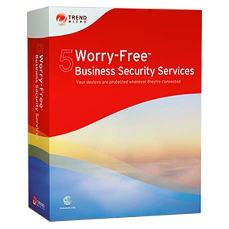 Trend Micro Worry-Free Business Security Services 5, RNW, 26-50u, 15m, FRE - 1