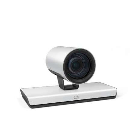 Cisco Precision 60 webcam 1920 x 1080 pixels RJ-45 Noir, Argent - 1