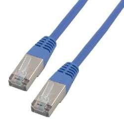 MCL 5m Cat 5E F/UTP câble de réseau Cat5e F/UTP (FTP) Bleu