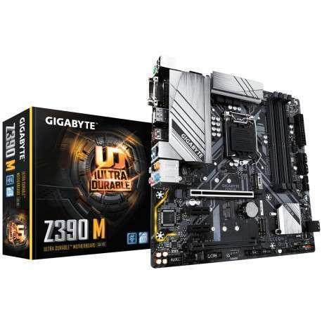 Gigabyte Z390 M carte mère LGA 1151 Emplacement H4 Micro ATX Intel Z390 - 1