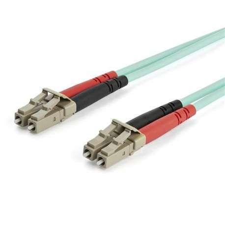StarTech.com Câble fibre optique duplex multimode LC vers LC de 15 m - OM3 - 1