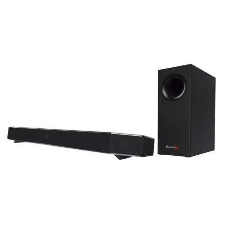 Creative Labs Sound BlasterX Katana haut-parleur soundbar 2.1 canaux 75 W Noir - 1